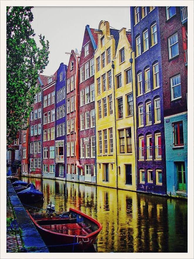 plein de petites boutiques mignonnes dans le quartier de Negen Straatjes. Amsterdam