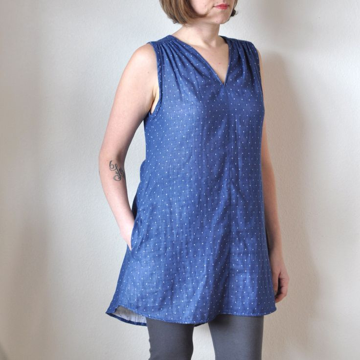 The Endless Summer Tunic Pattern #fabric #pattern #sewing | A Verb for Keeping Warm