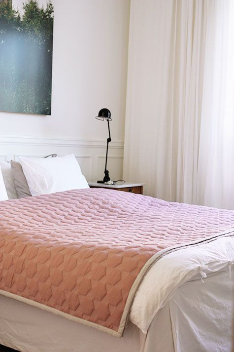 Polygon bed spread from Hay | Wonderdeco