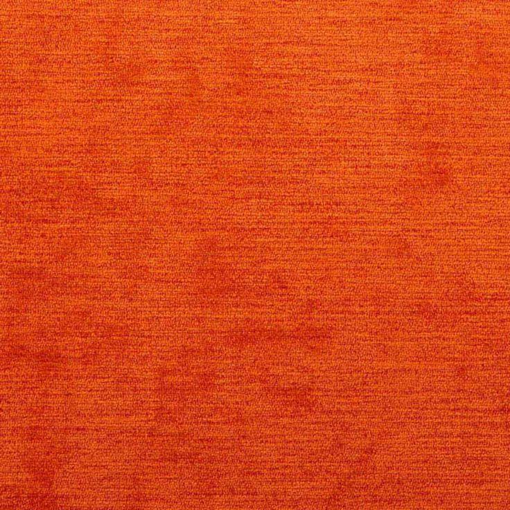 Warwick Fabrics : ELLA, Colour TANGERINE