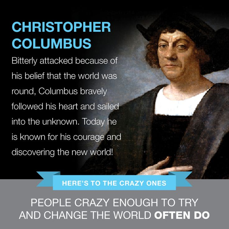 how christopher columbus was influential to But is there most to the legacy of christopher columbus 5 facts you might not know about christopher columbus the knights of columbus, an influential male.