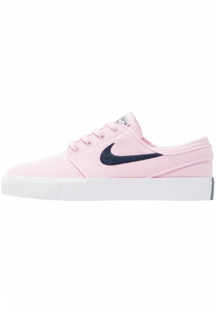 Nike SB. ZOOM STEFAN JANOSKI CNVS - Trainers - prism pink/obsidian. Sole:synthetics. Shoe tip:round. Padding type:Cold padding. Heel type:flat. Lining:textile. detail:decorative seams. shoe fastener:laces. Fabric:Canvas. upper material:textile. Insole:textile