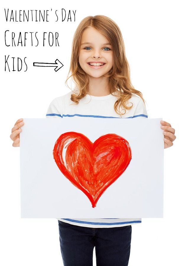 Awesome Valentine's Day Crafts for Kids. My 6, 4, and 2-year-old LOVE these!