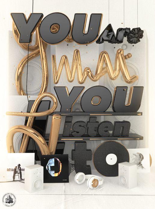 pinterest.com/fra411 #typographic - Reverie on Behance
