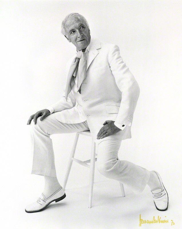 Cecil Beaton by Norman Parkinson, 1972. http://www.npg.org.uk/collections/search/portraitLarge/mw83110/Cecil-Beaton