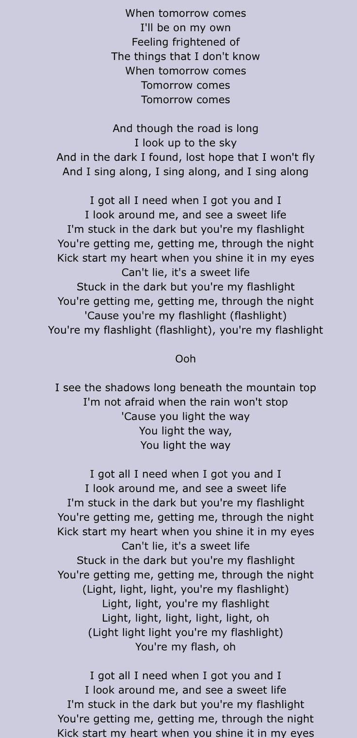 Jessie J lyrics- flashlight. Part 1