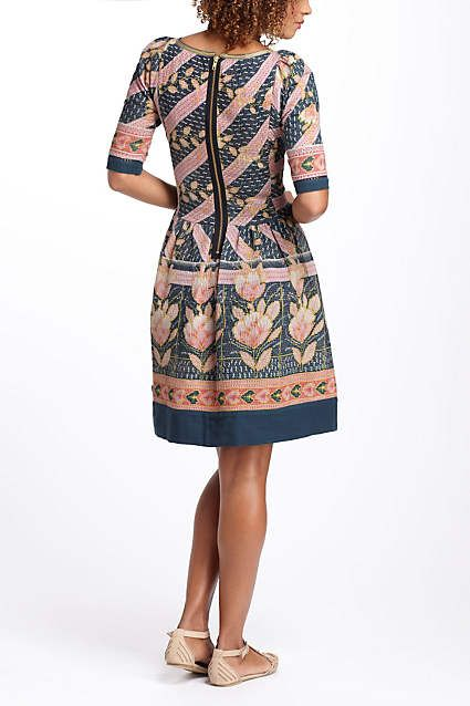 Vanga Vintage Kantha Dress - anthropologie.com