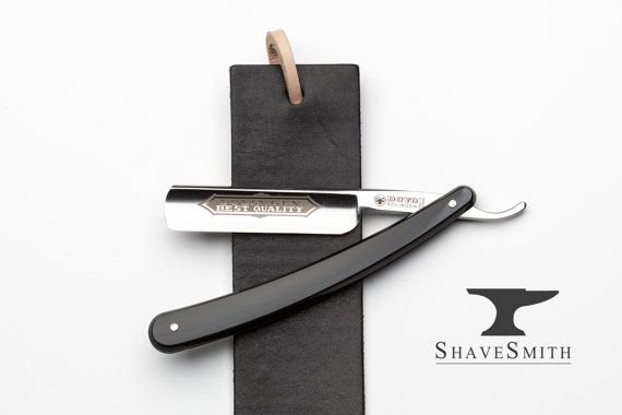DOVO Straight Razor kit and Strop of Your Choice Featuring Shave Ready Dovo Straight Razor