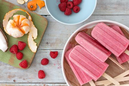 bakers royale - tropical fruit punch popsicles.