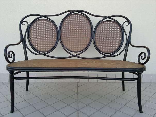 Original Thonet sofa nr 22 der 1875-1880