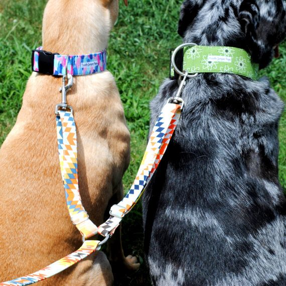 Introducing The Coupler Leash! This leash is designed specifically for multi-dog families. It will allow you to walk two dogs without the hassle