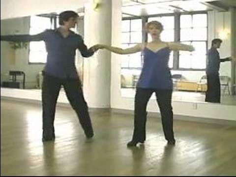 ▶ How to Do the Hustle : Sliding Waltz Steps in the Hustle - YouTube