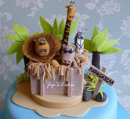 Madagascar Cake - by Jipscakes