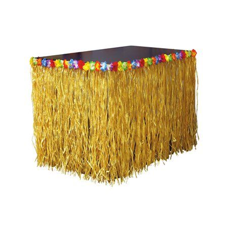Adorno mesa Hawaiano. Perfecto para decorar tu mesa en fiestas hawaianas o caribeñas. http://mercadisfraces.es/de-hawaianos/decoracion-fiesta-hawaiana.html?search_query=hawaianos&results=63