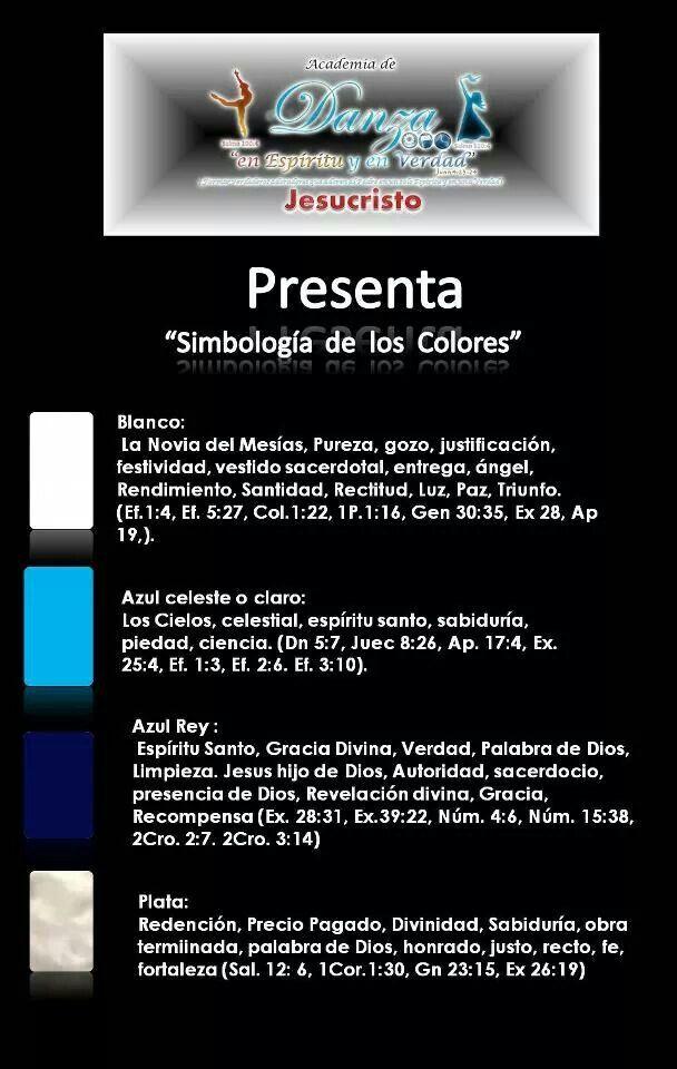 significado de colores y lectura biblica