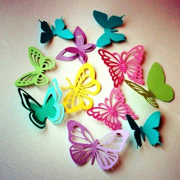 Бабочки на стену своими руками: 7 эксклюзивных идей 37
