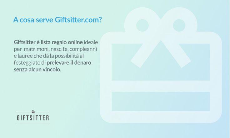 come funziona la lista regalo di Giftsitter