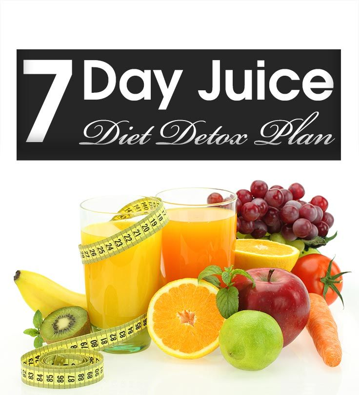 People today are desperate to lose weight. Here's an effective 7 day detox juice diet plan for you to check out which is a quick fix to a healthy .. #juice #diet #detox