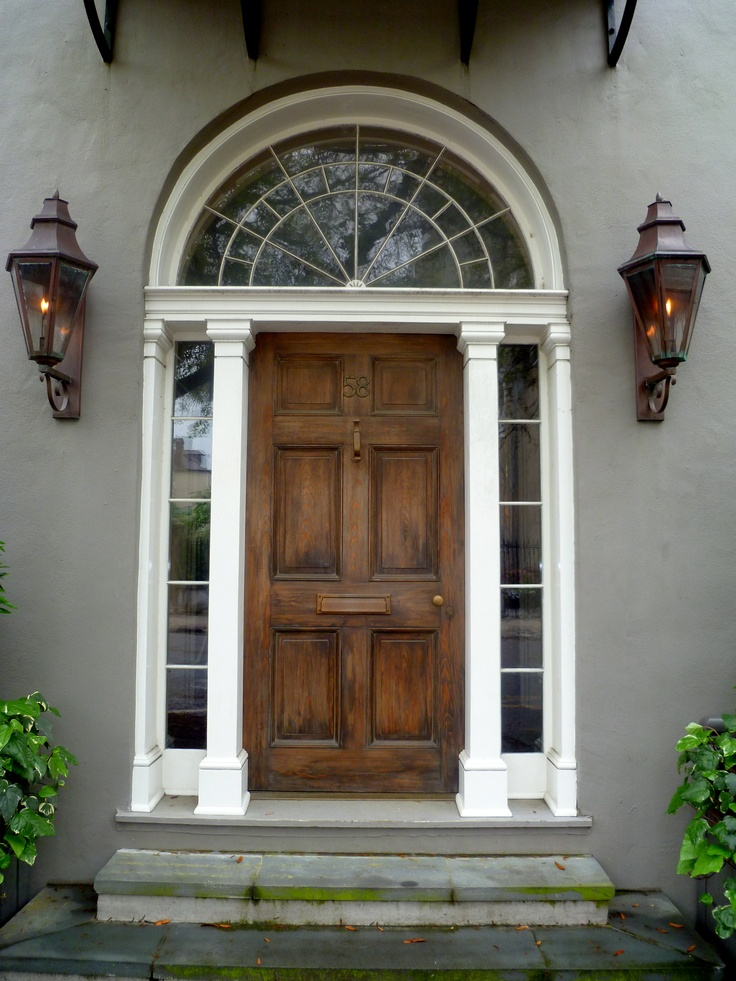 Neoclassical Door Charleston Sc Grey Garage Doors