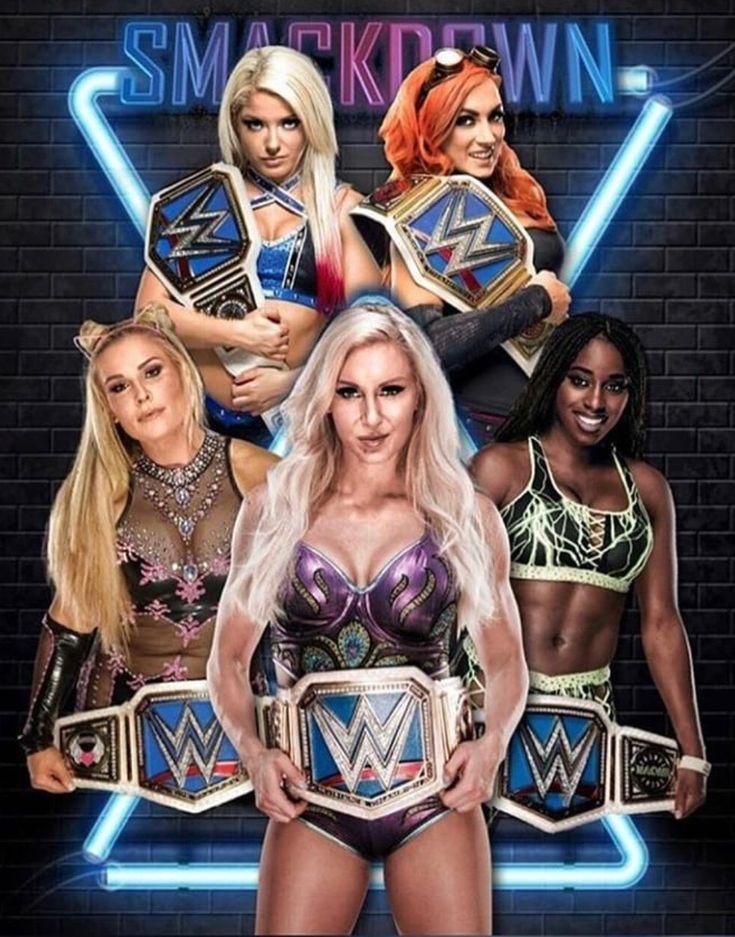 All divas WWE Smackdown Women's Championship winner match for history.