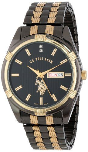 17 best ideas about popular mens watches nice mens u s polo assn classic men s usc80047 two tone watch black dial watch