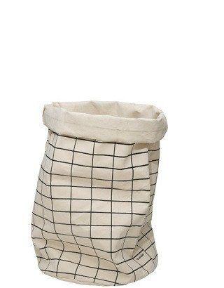Fabric Storage Bag - Grid