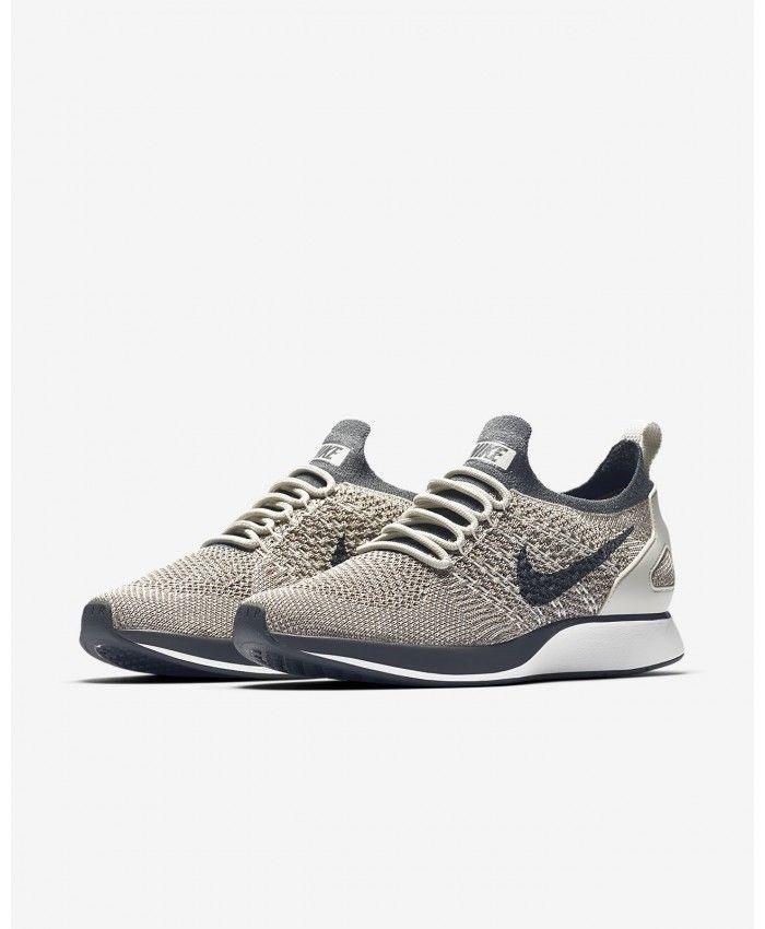 f3e9458da572 Nike Air Zoom Mariah Flyknit Racer AA0521-002 Grey White Women s Lifestyle  Shoes Flyknit Racer Mariah
