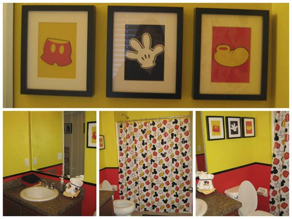 19 best [ my mickey mouse bathroom ] images on pinterest | mickey