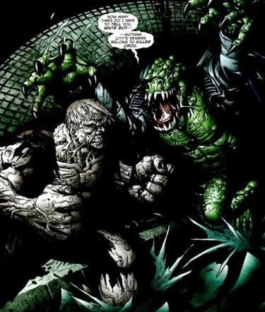 Solomon Grundy vs Killer Croc