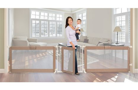 Will need this when Baby O is older!  Summer Infant Custom Fit Walk-Thru Gate