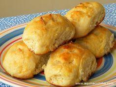 Lanche/Doce - Pãozinho de batata doce