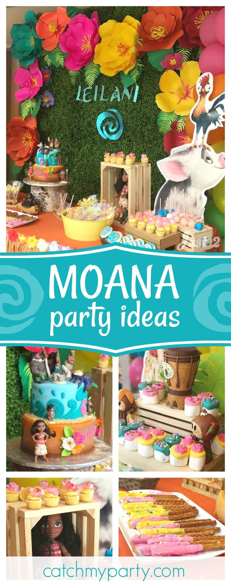 252 Best Moana Birthday Party Ideas Images On Pinterest