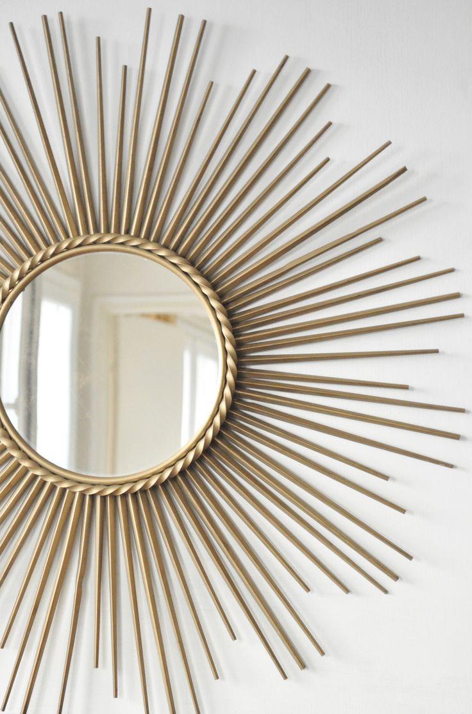 Le Vide Grenier d'une Parisienne :  Miroir Soleil