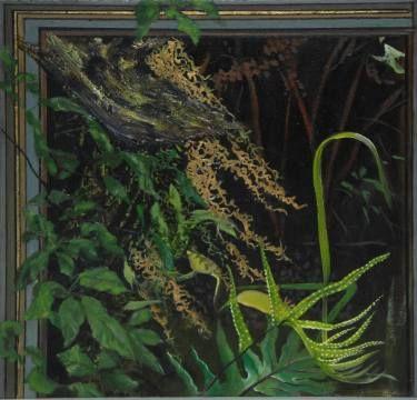 "Saatchi Art Artist Alii Scott; Painting, ""Paraharaha - Fern"" #art"