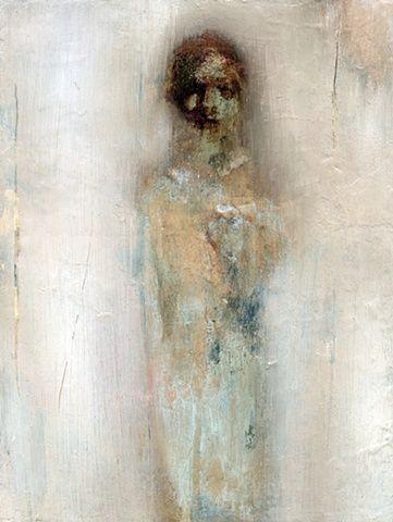 IN DREAMS/ by Fran Williams/      2011/     Oil on wood/     20x27cm