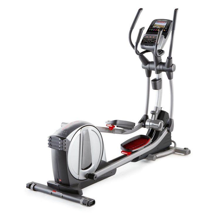 Elliptical Exercise Machine 20 Digital Resistance Level iFit Digital Touchscreen #EllipticalExerciseMachine