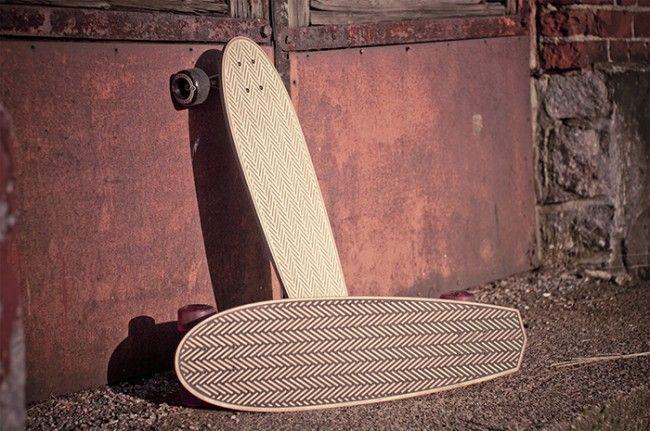 New cruiser skateboard decks from Laser Cut Studio.