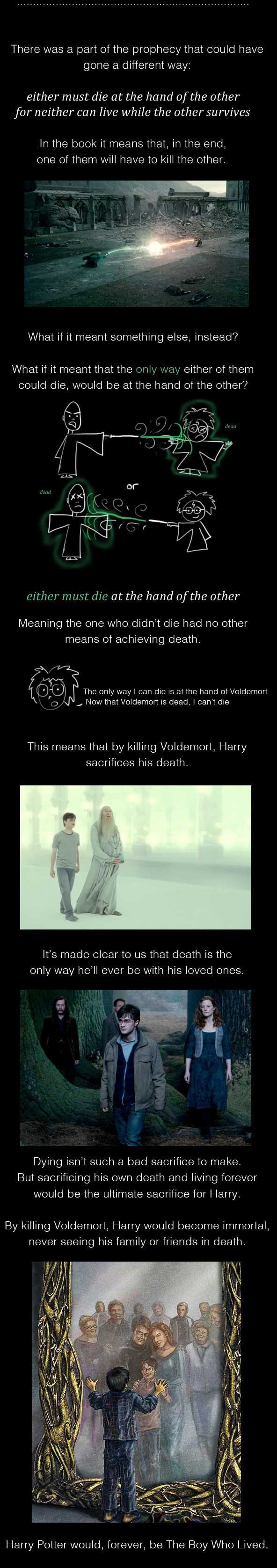 Harry Potter Alternated Ending! Holy fuck ... oh my god could it be?