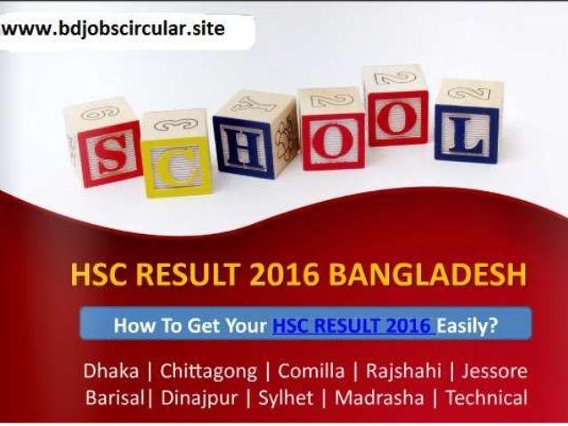 HSC Result 2016 BD, HSC Result 2016 Bangladesh, HSC Exam Result 2016 BD, HSC Result 2016 Bangladesh
