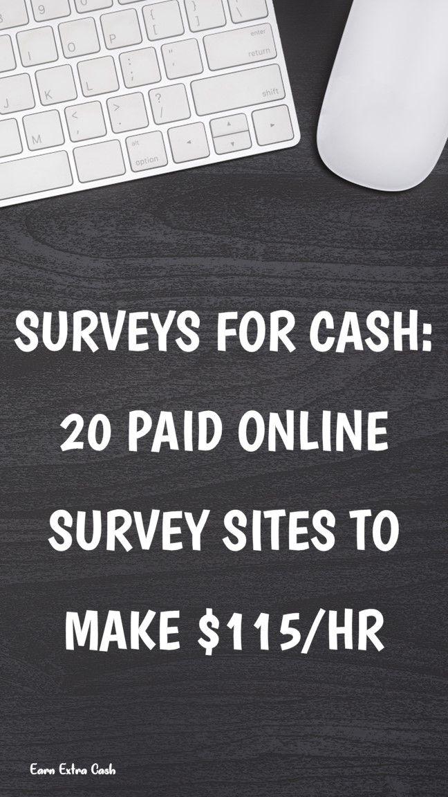 Surveys For Cash: 20 Paid Online Survey Sites To M…