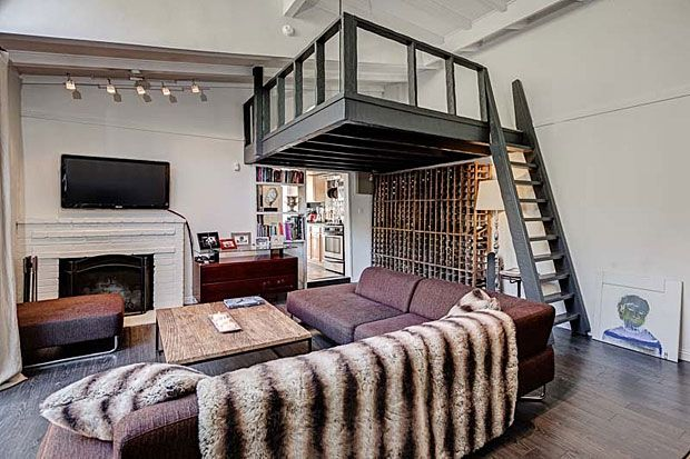 Nice Though There Is Only One Bedroom, The Living Room Features A Sleeping Loft  Suspended Above It Thanks To The Very High Ceilings. And Check Out The U2026 Part 18