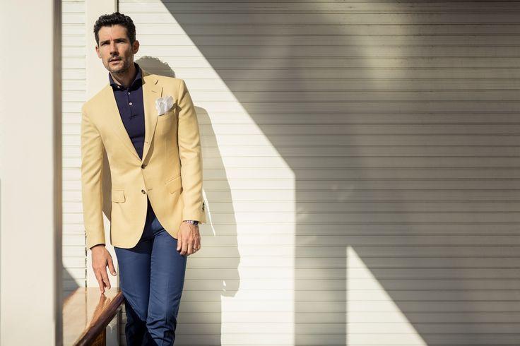 Giallo e Blu un must per la primavera 2015  #musthave #menswear#sartoriarossi