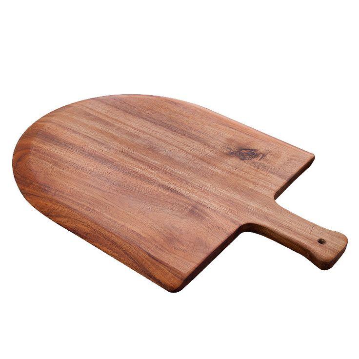 Acacia Wood Pizza Peel and Cutting Board