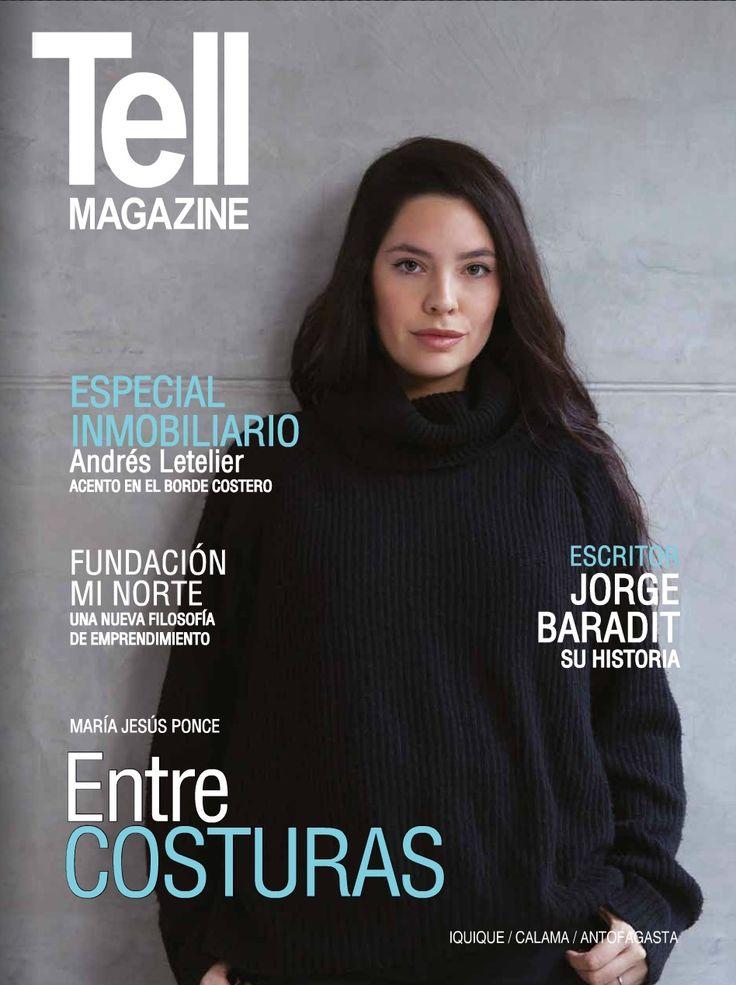 Maria Jesus Ponce para Saint Jesus - Portada Revista Tell Antofagasta