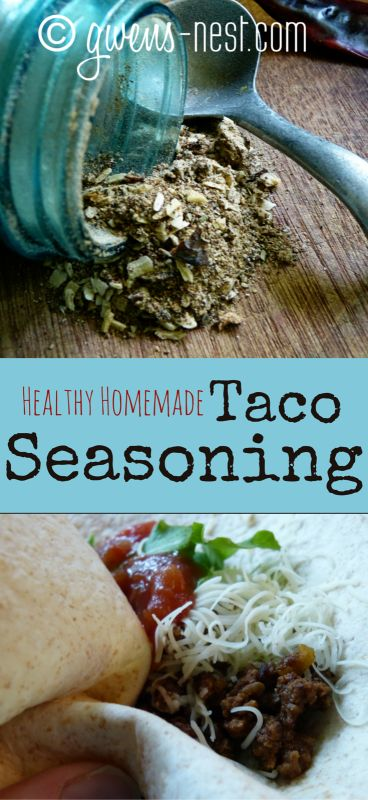 taco seasoning pin