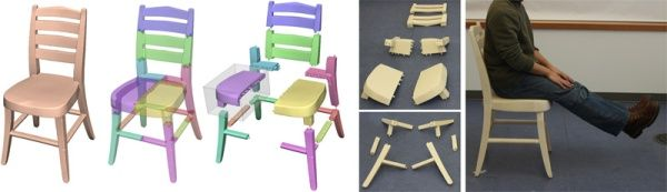 3ders.org - 3D print a chair, piece by piece | 3D Printing news
