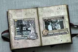 Бумажный хоровод...: Альбом для друга...