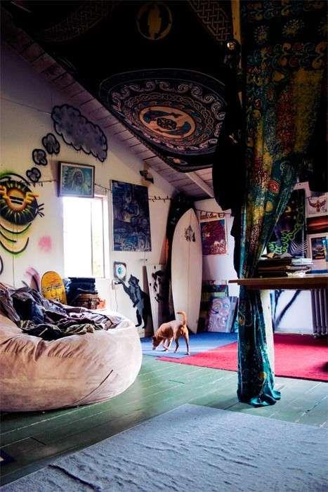 Arredamento in stile hippie - Camera in stile hippie