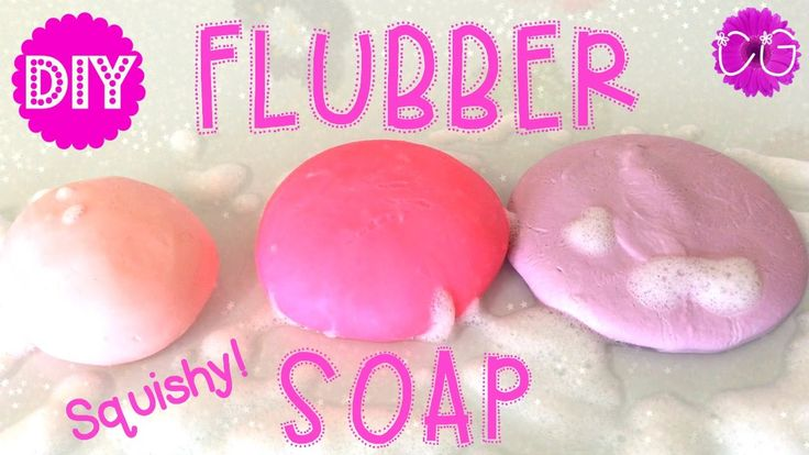 The Crafty Girls make Flubber Soap. Such a fun kids craft!!!