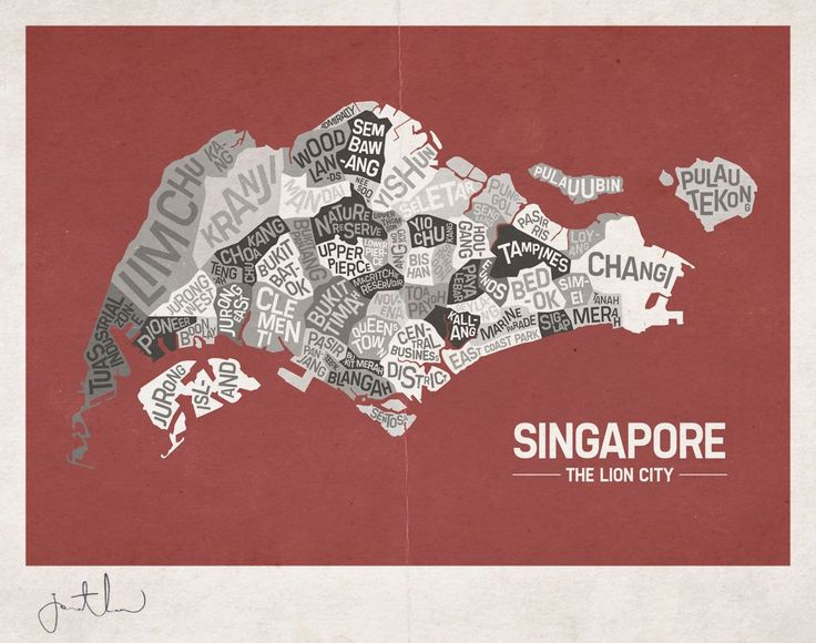 Neighbourhoods of Singapore